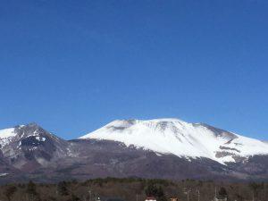 浅間山の噴火警戒レベルが2から1に引き下げられました
