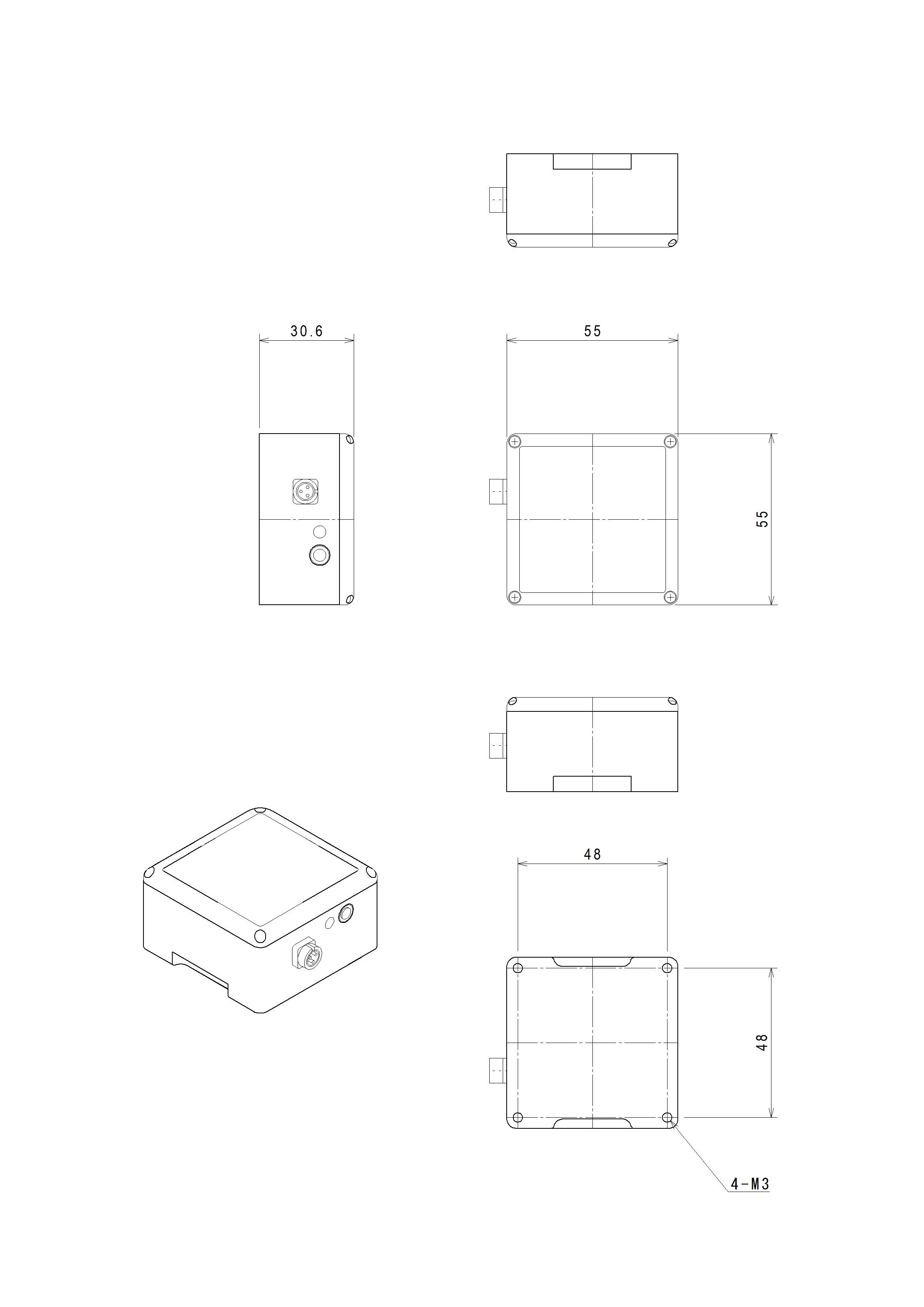 MVP-RF3-J 外形寸法