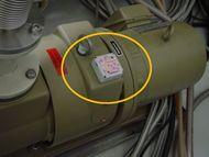 無線モーションレコーダーを用いた装置振動解析