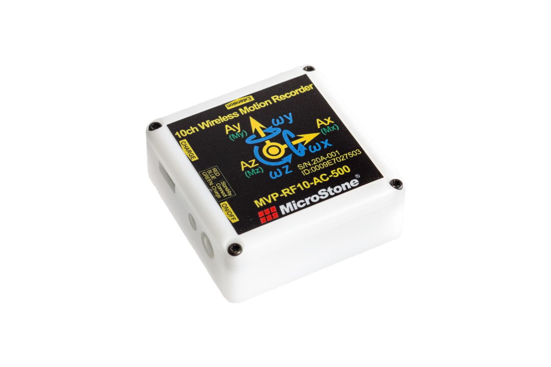 10チャンネル小型無線モーションレコーダー MVP-RF10-AC 外観